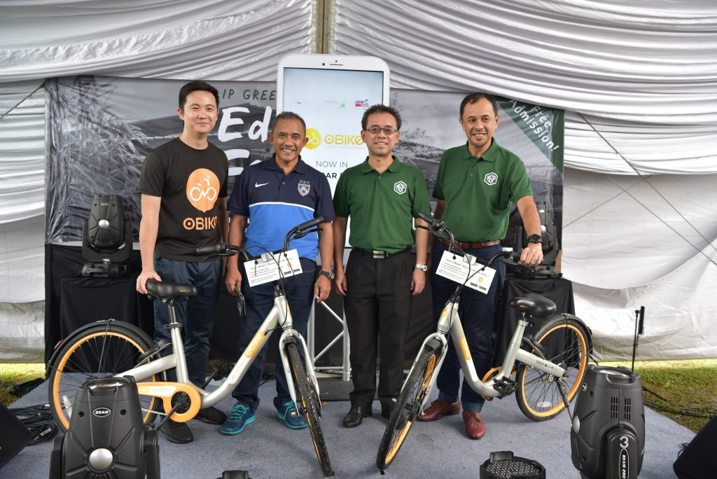 Iskandar Puteri's green ecosystem enhanced with oBike
