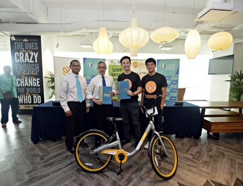 oBike Offers Bicycle Sharing Services For UMPians